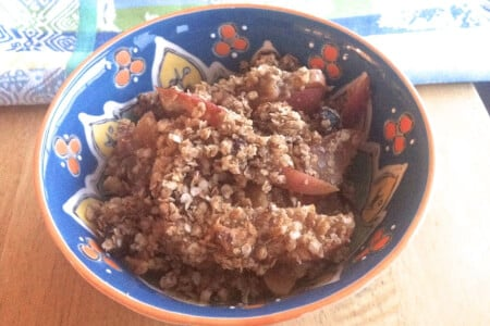 Best Quinoa Apple Crisp: Dairy-free & Gluten-free Recipe thumbnail