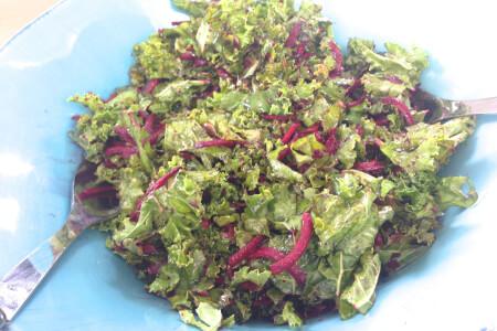 Punchy Crunchy Kale Seed Salad thumbnail