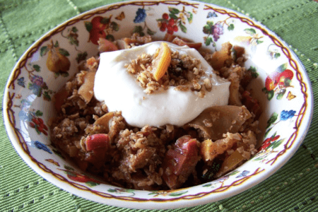 Coconut Crisp Topping for Fruit: Dairy-free, Gluten-free thumbnail