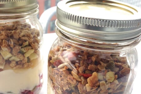 Granola Breakfast in a Mason Jar Recipe thumbnail