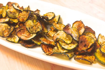 Sea Salt Rosemary Zucchini Chips Recipe thumbnail