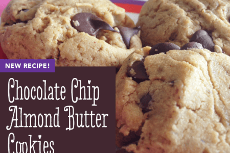 Gluten-Free Chocolate Chip Almond Butter Cookies thumbnail