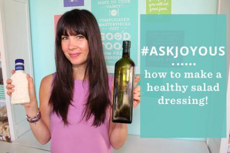 #AskJoyous - How to make a healthy salad dressing thumbnail