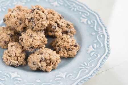 Chewy Chocolate Chip Tahini Cookies with Video thumbnail