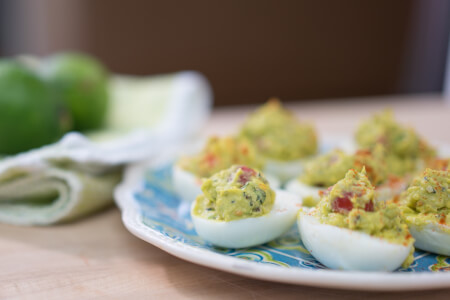 Guacamole Deviled Eggs thumbnail