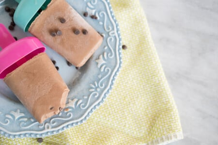 Chocolate Chip Fudgsicles Made with Coconut Milk thumbnail