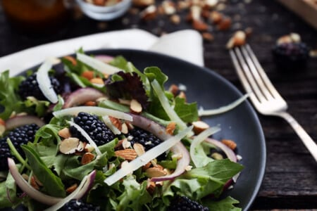 Blackberry Manchego Salad thumbnail
