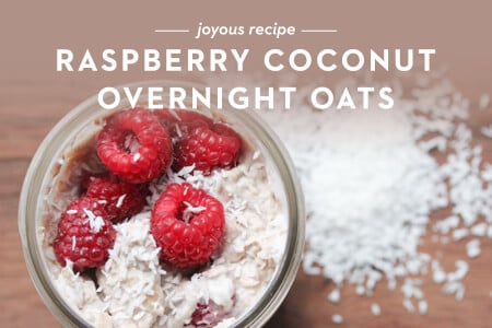 Guest Post: Raspberry Coconut Overnight Oats Thumbnail