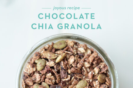Chocolate Chia Granola thumbnail