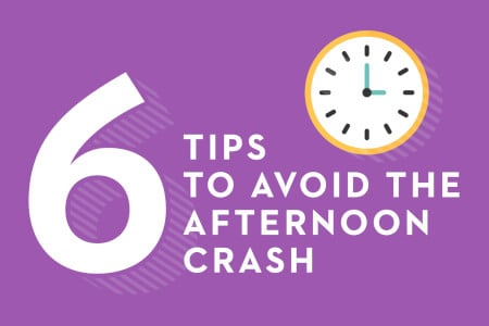 6 Tips to Avoid the Afternoon Crash thumbnail