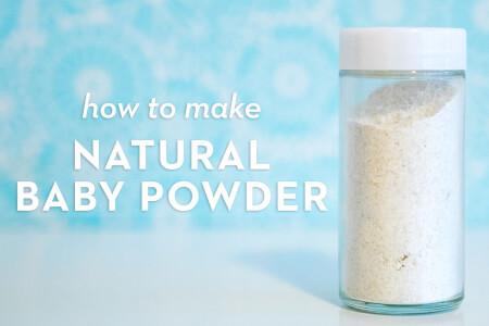 How to Make Natural Baby Powder thumbnail