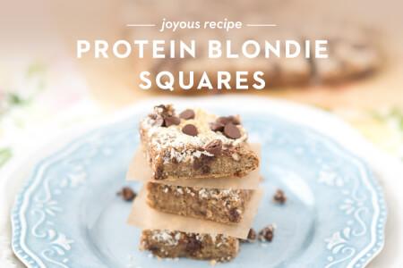 Protein Blondie Squares thumbnail