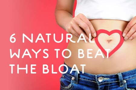 6 Natural Ways to Beat the Bloat thumbnail