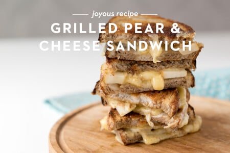 Grilled Pear and Cheese Sandwich thumbnail