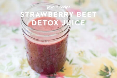 Strawberry Beet Detox Juice thumbnail