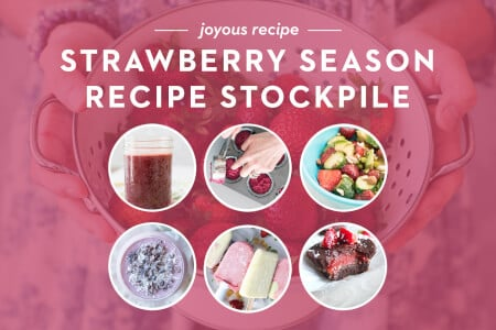 Strawberry Season Recipe Stockpile thumbnail