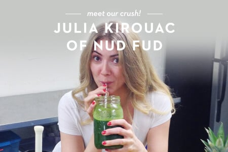Woman Crush Wednesday: Meet Julia Kirouac of Nud Fud + a Giveaway! thumbnail