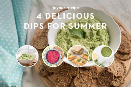 4 Delicious Dips for Summer thumbnail
