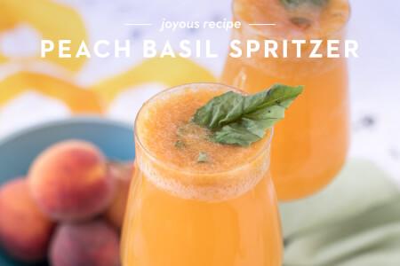 Peach Basil Spritzer thumbnail