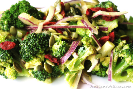 Guest Post: Broccoli and Goji Berry Antioxidant Salad thumbnail