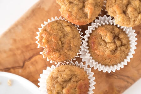 Coconut Flour Banana Spice Muffins thumbnail