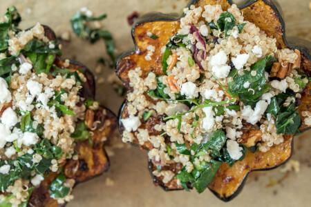 Quinoa-Stuffed Acorn Squash thumbnail