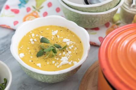 Leek Squash Soup thumbnail