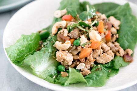 Asian Chicken Lettuce Wraps thumbnail