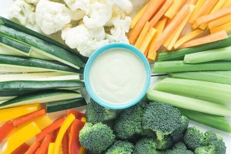 Creamy Cashew Veggie Dip thumbnail