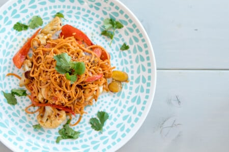 Sweet Potato Veggie Pad Thai thumbnail