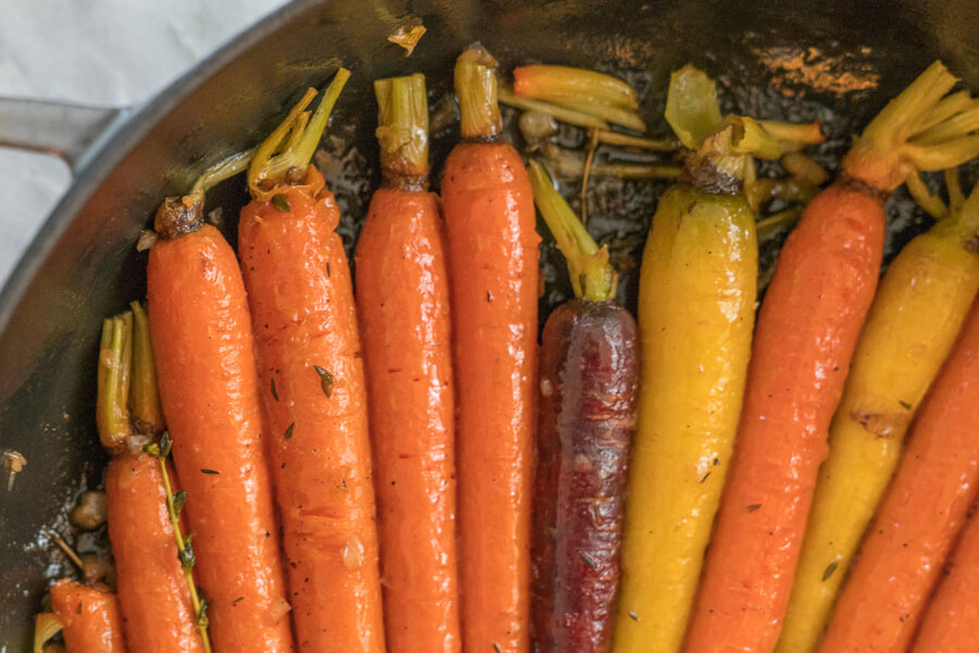 Sticky Carrots Recipe thumbnail