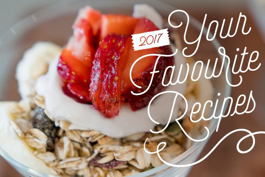 Your Favourite Recipes of 2017 thumbnail