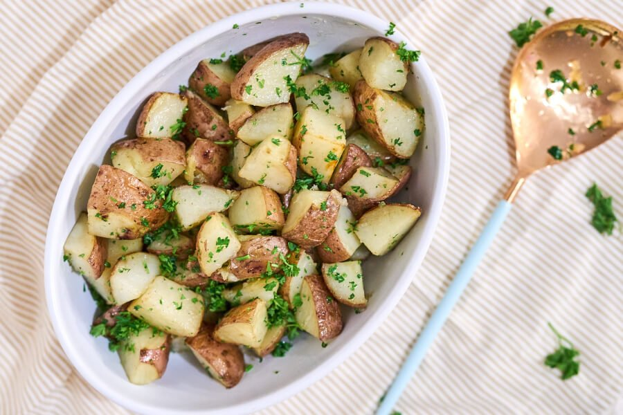 Oven Roasted Parsley Potatoes thumbnail