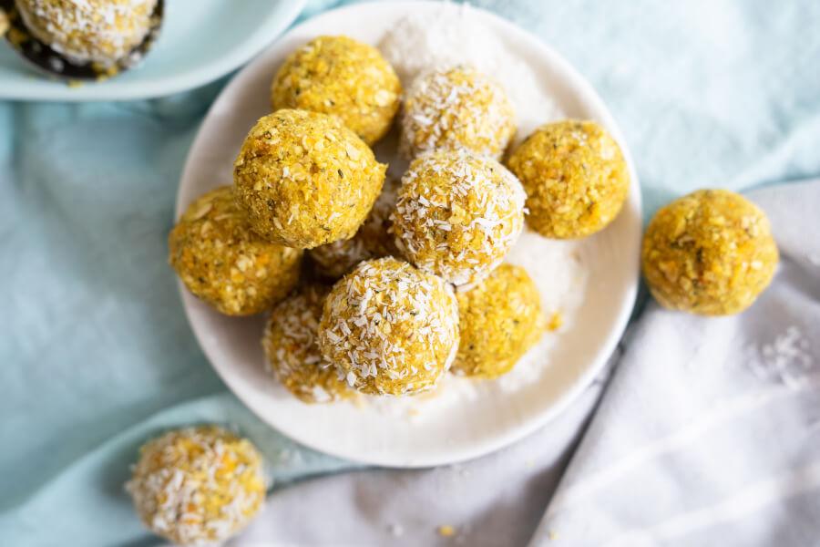 Turmeric Mango Golden Balls thumbnail