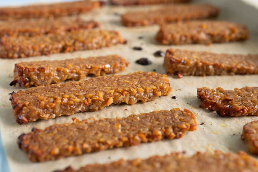 Maple Tamari Tempeh thumbnail