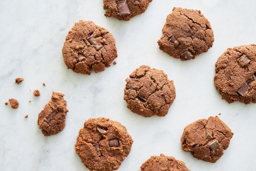 Double Chocolate Cookies (Paleo-friendly and Gluten-free) thumbnail