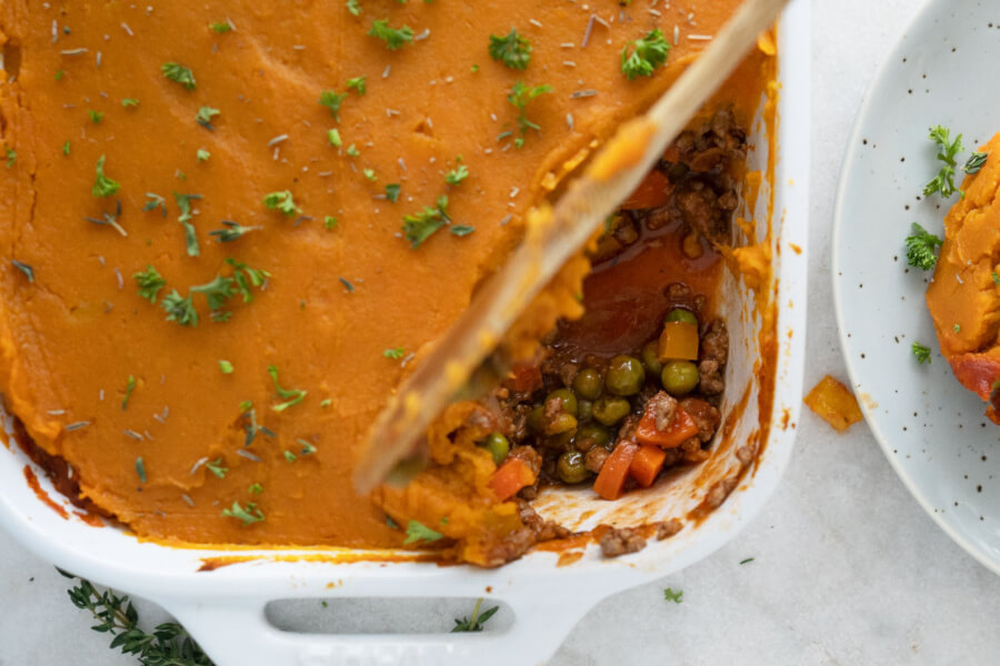 Sweet Potato Shepherd's Pie thumbnail