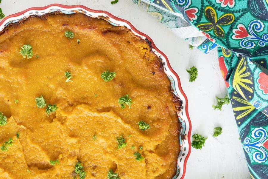 Butternut Squash Lentil Pie thumbnail