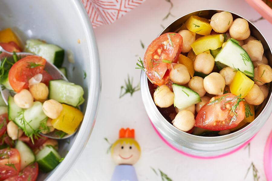 Chickpea Yum Yum Salad thumbnail