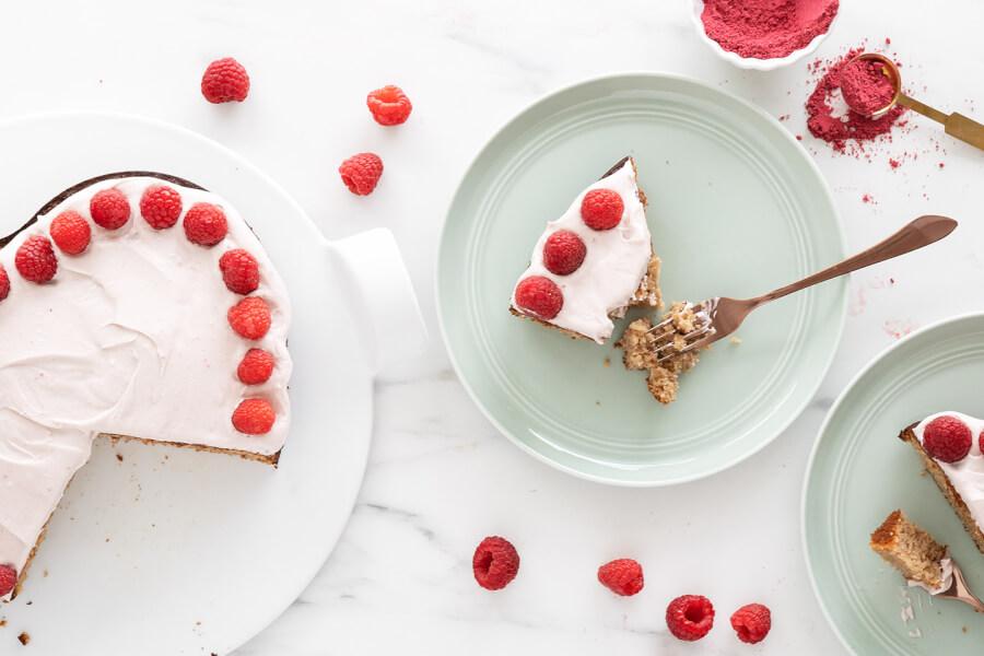 Almond Flour Raspberry Cake thumbnail