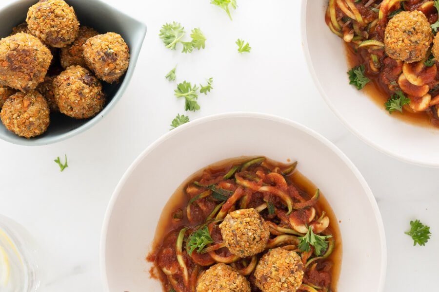 The Best Paleo Vegan Meatballs thumbnail