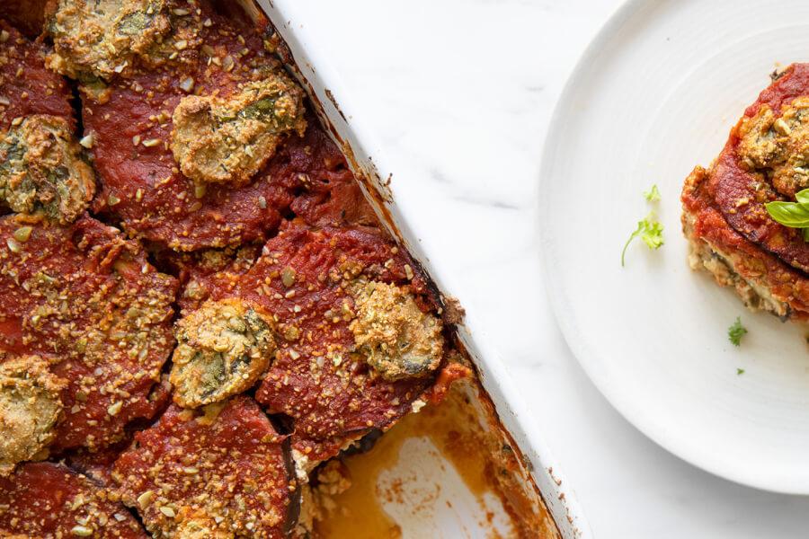Easy Eggplant Lasagna thumbnail