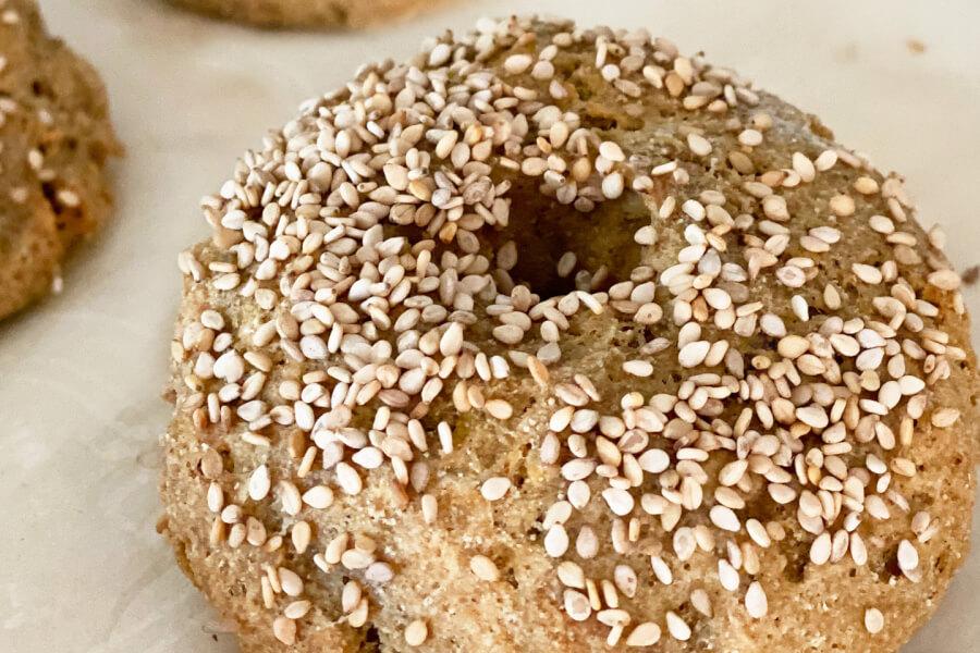 Gluten-free Sesame Bagels thumbnail