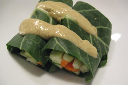 Thai Veggie Wraps: Raw & Delicious thumbnail