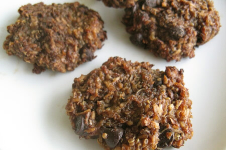 Gluten-free Chocolate Quinoa Cookies thumbnail