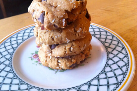 Gluten-free chewy chocolate chip cookies  thumbnail
