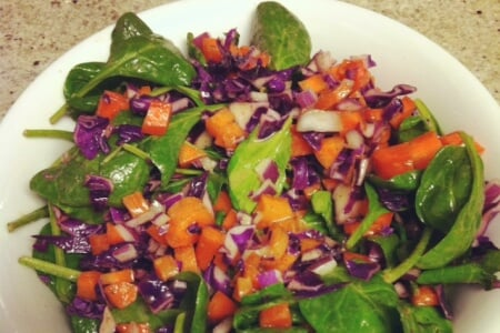 Delicious Detox Salad with Dijon Maple Dressing thumbnail
