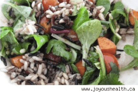Brown & Wild Rice Salad thumbnail