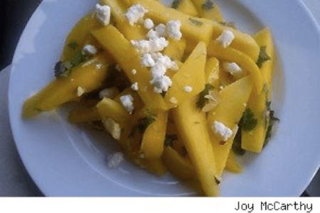 Mango Almond Salad thumbnail