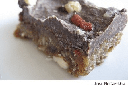 Raw Chocolate Banana Goji Brownie thumbnail